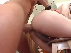 Beautiful playful tgirl gets fucked with boyfriend