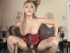 Hot shemales fuck and jizz by turns
